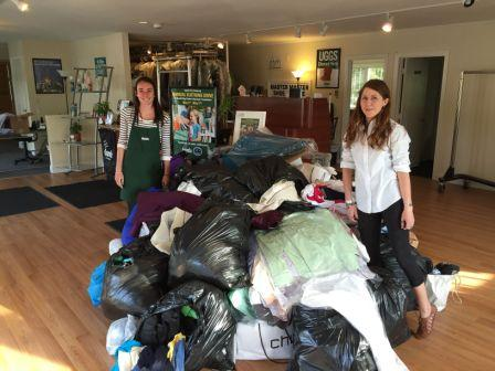 Lapels Dry Cleaning kicks off 13th annual clothing drive to benefit Big Brother/Big Sister on May 7