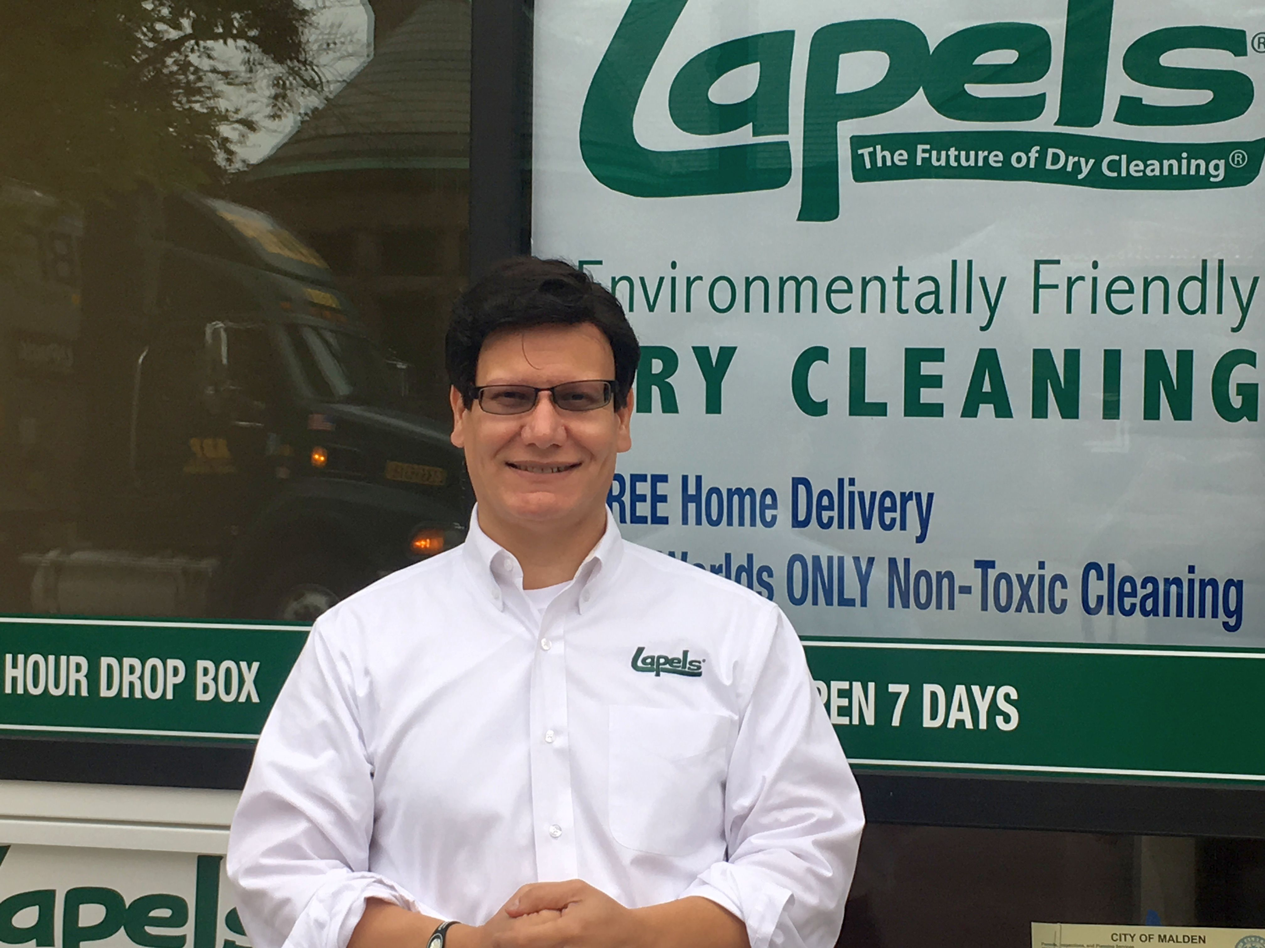 The Future of Dry Cleaning comes to Malden. Lapels Dry Cleaning opens at 480 Main Street, Malden, MA