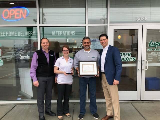 Jay Desai named Lapels Dry Cleaning Franchise Owner of the Year