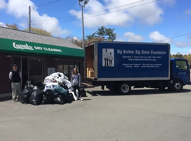 Lapels Dry Cleaning kicks off 15th annual clothing drive to benefit Big Brother Big Sister and celebrate Earth Day